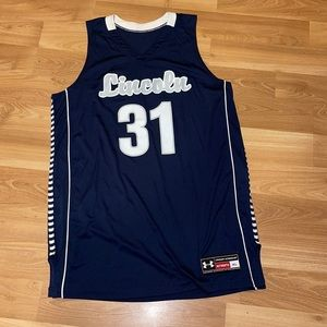 Under Armour LINCOLN 31 jersey navy blue size XL